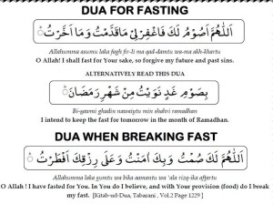 dua for fasting